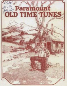 Advertisement for Old Time Tunes from Paramount Records