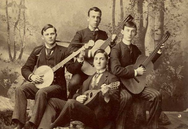 Banjo, Mandolin, and Guitar Club at Washington & Jefferson College (1890s)