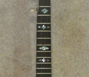 Fretted Banjo Neck