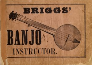 Briggs' Banjo Instructor of 1855