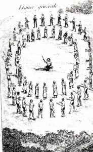 """Dance Generale"" of the Natchez Indians"