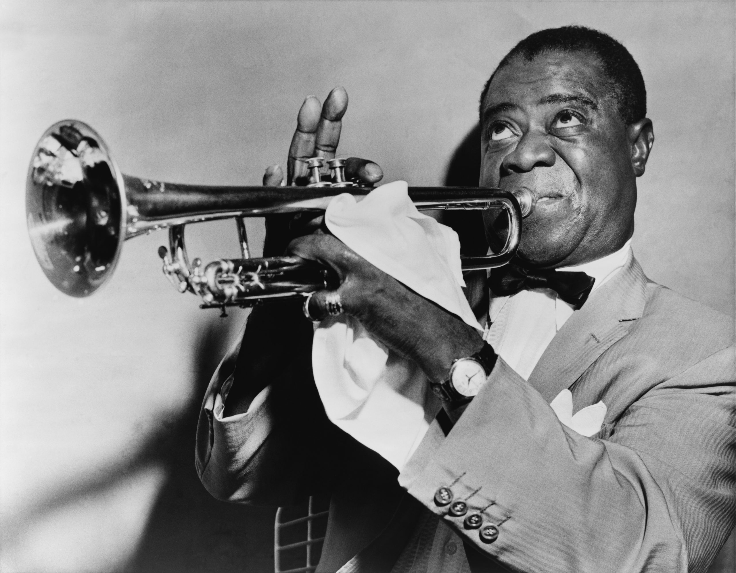 Jazz pioneer Louis Armstrong
