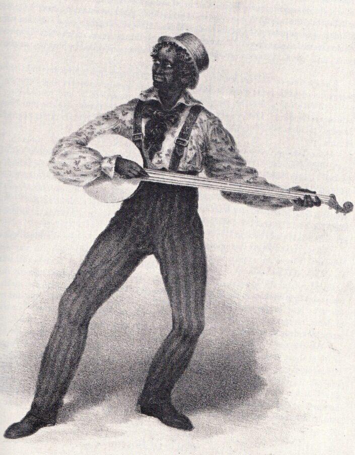 Sweeney in blackface